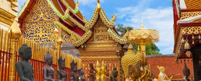 Chiang Mai Temples Thailand