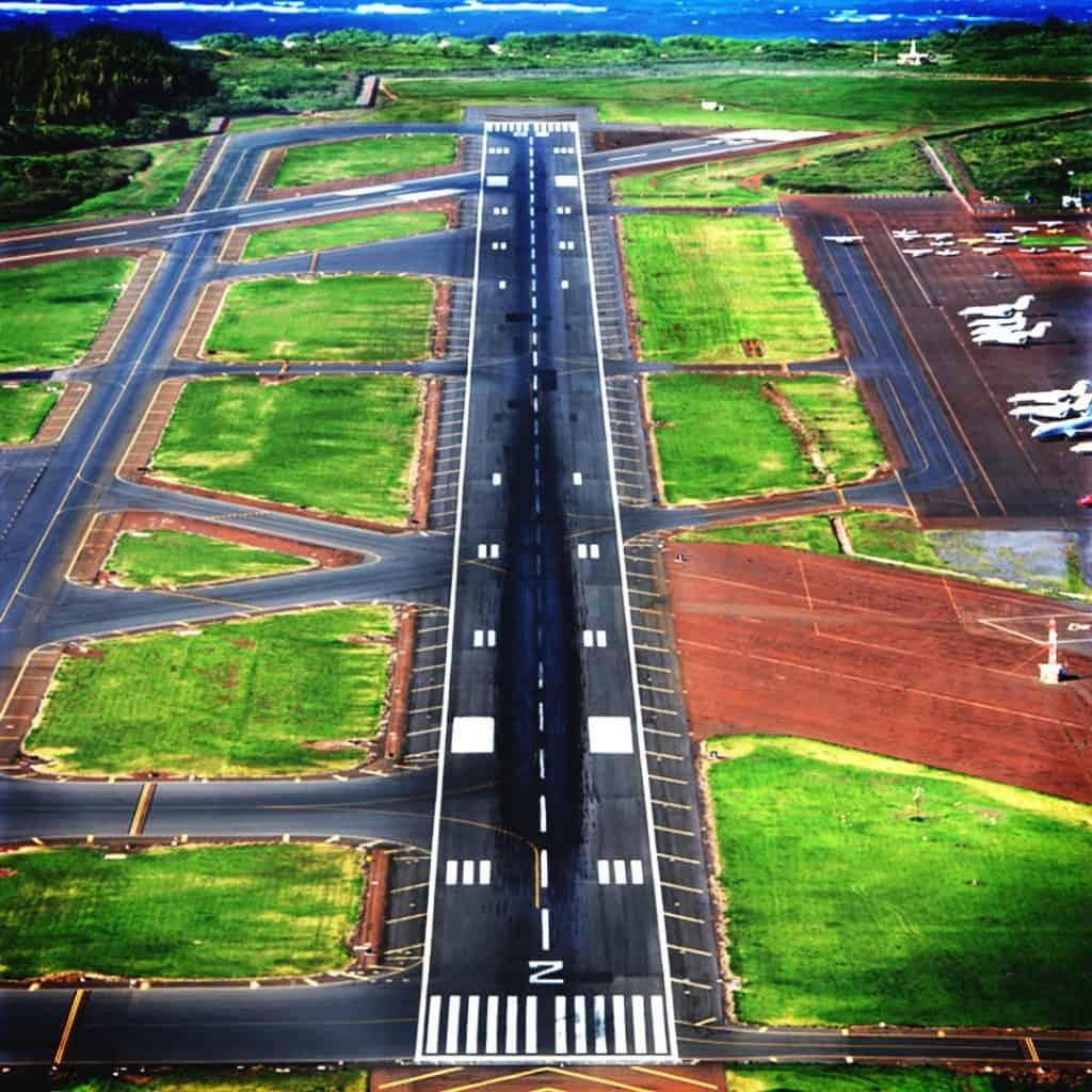 Private Airport Ocean Side