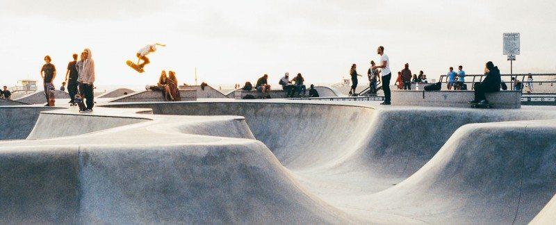 Venice Beach Los Angeles Skate Park