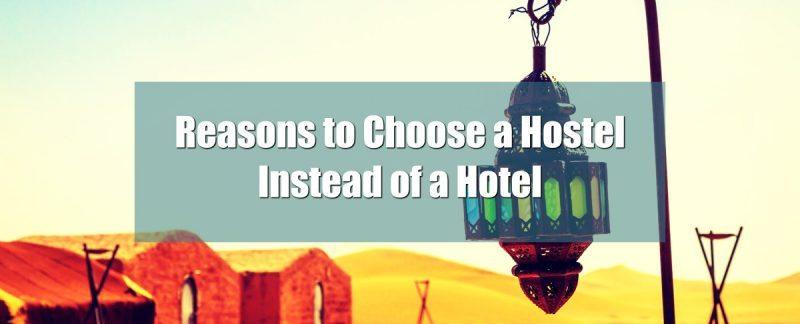 Benefits of Hostel over Hotel