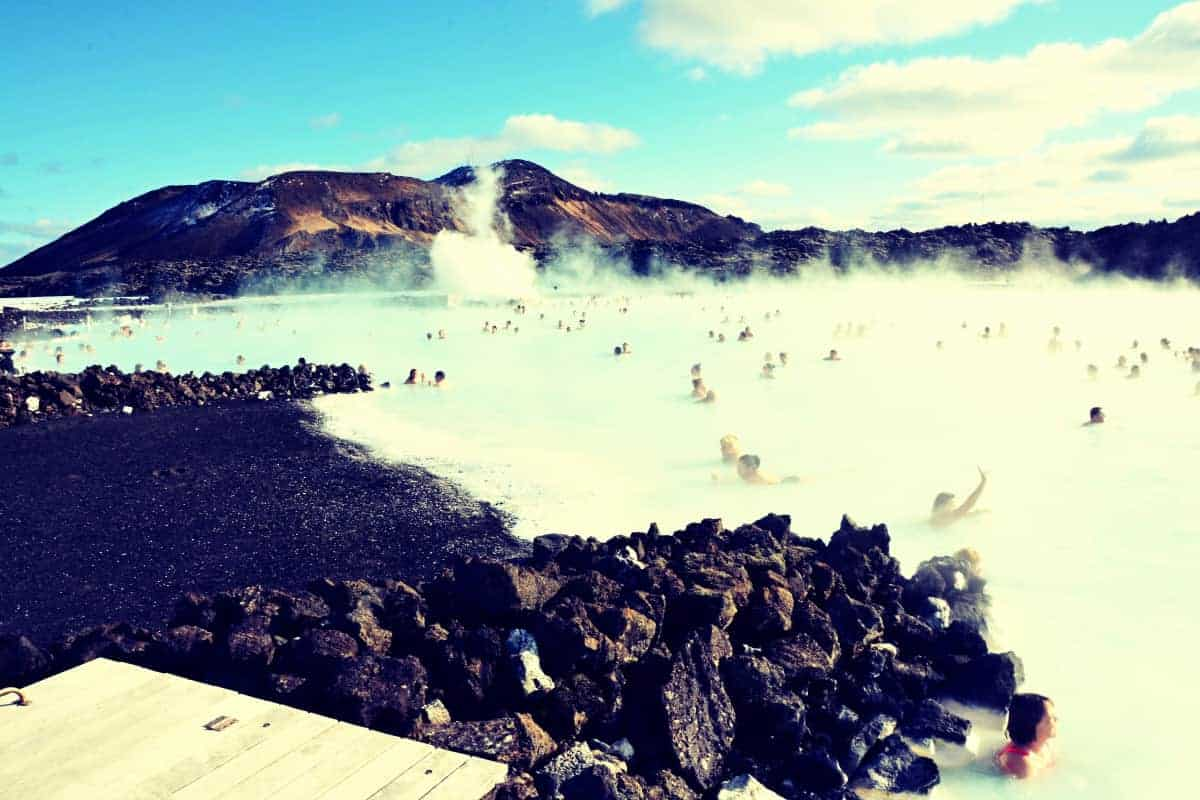 Hot Springs Iceland Blue Lagoon