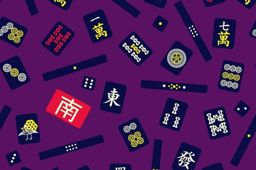 How to Play Mahjong Tiles on Table
