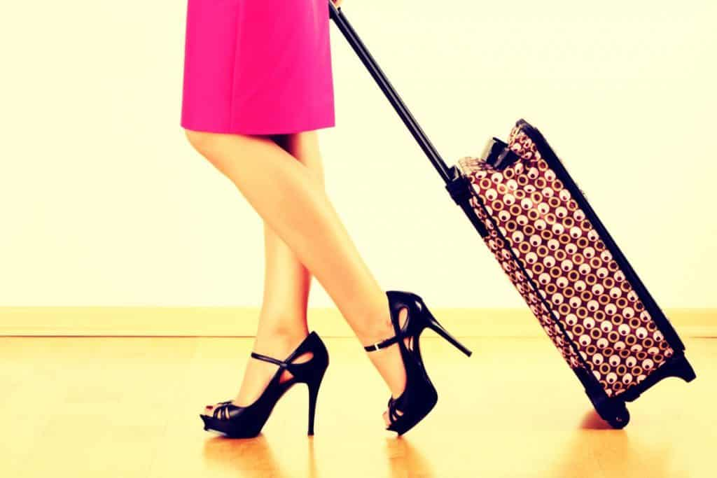 Business Travel Packing Personal Items