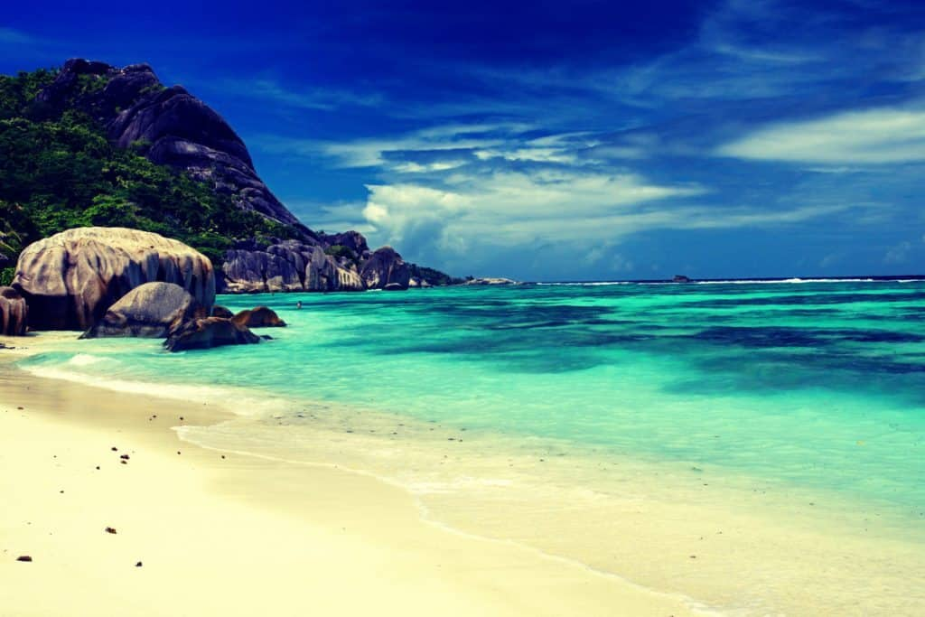 Sandy Shores of seychelles