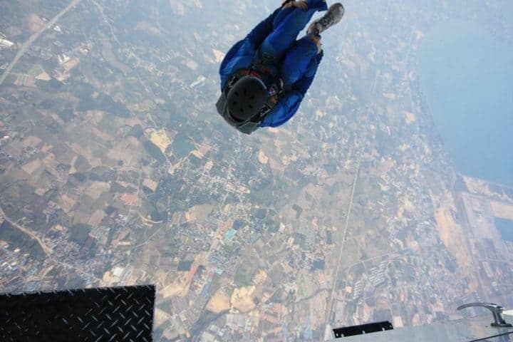 Ayahuasca Skydive