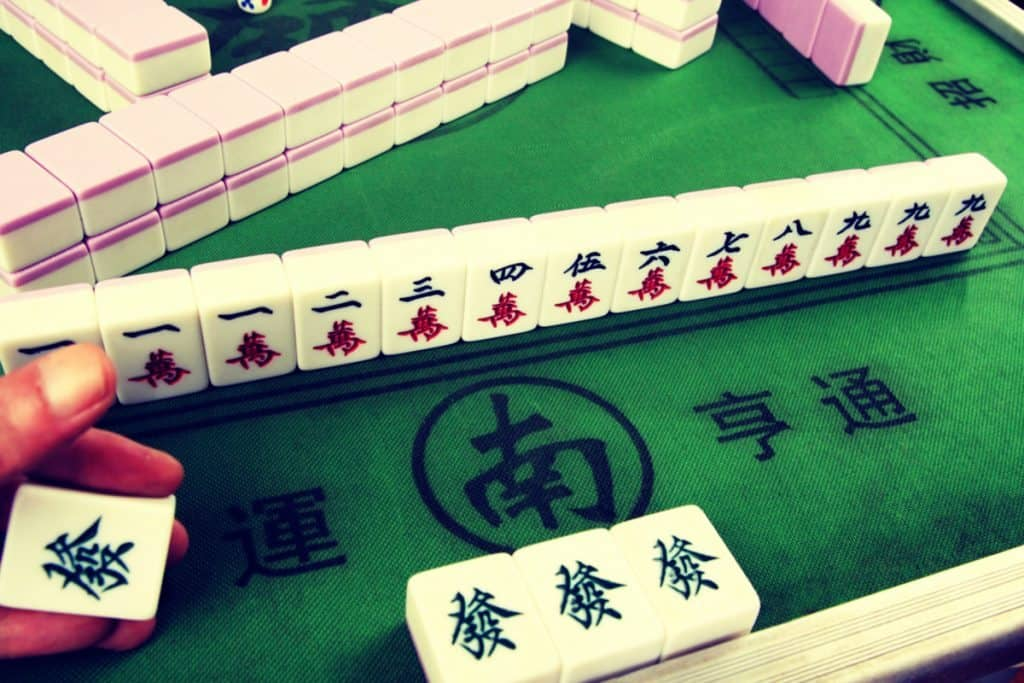 How to Win Mahjong showing a winning hand