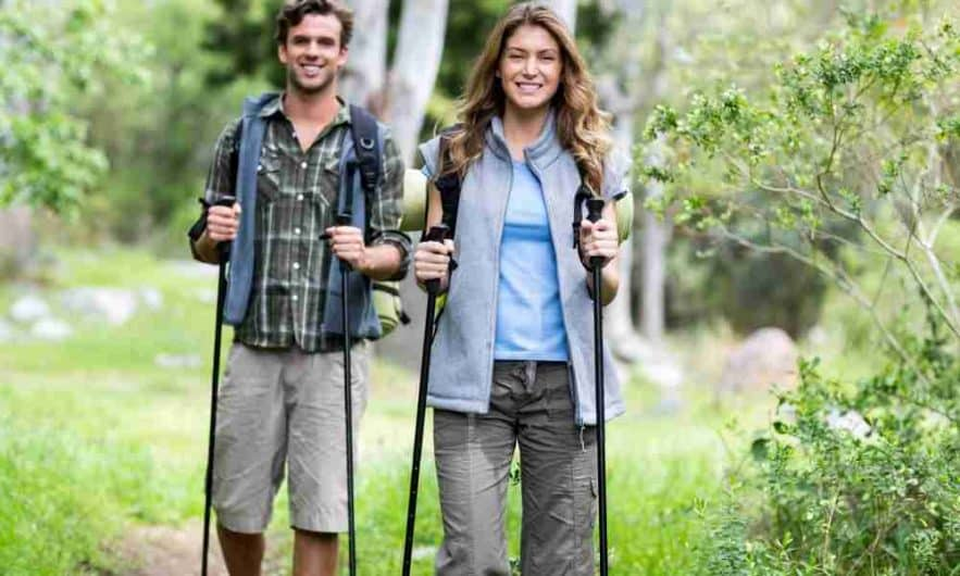 How to Use a Hiking Pole Height Chart