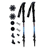 Ohuhu Carbon Fiber Hiking Poles