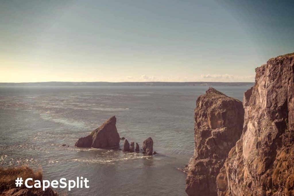 Cape Split Rocky Shoreline Tides
