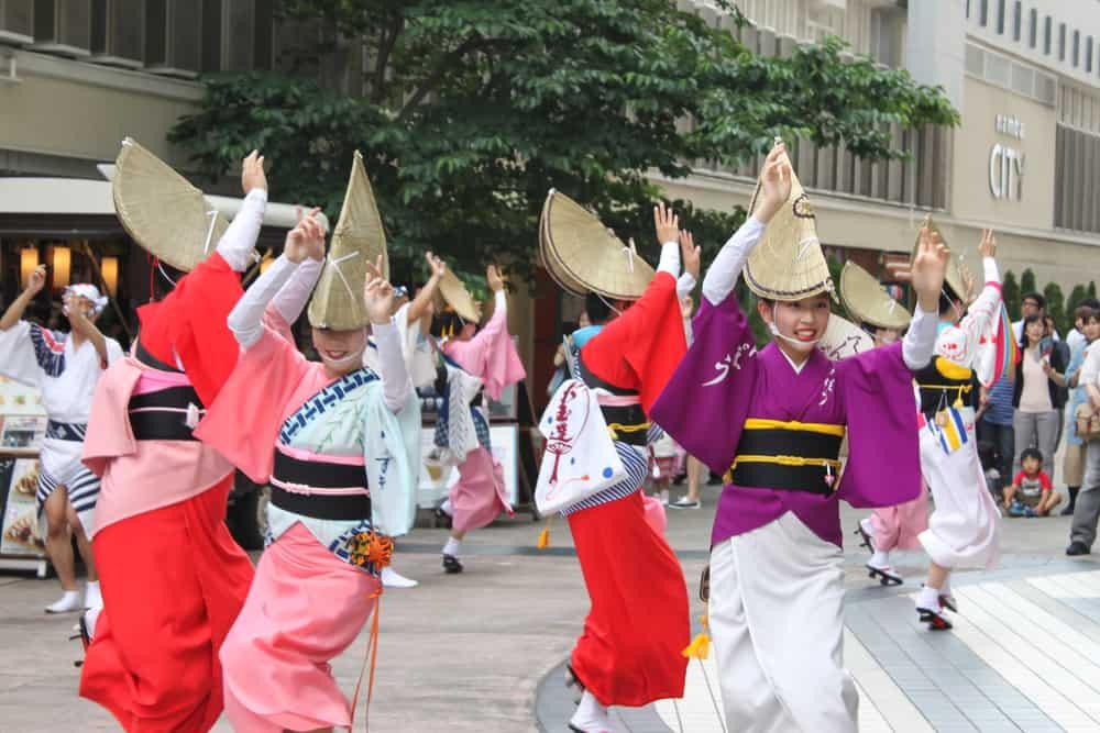 Fukuro Matsuri festival in Ikebukuro