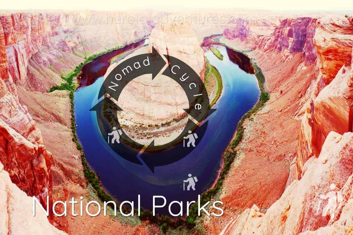 Snake Bend Colorado River National Park USA