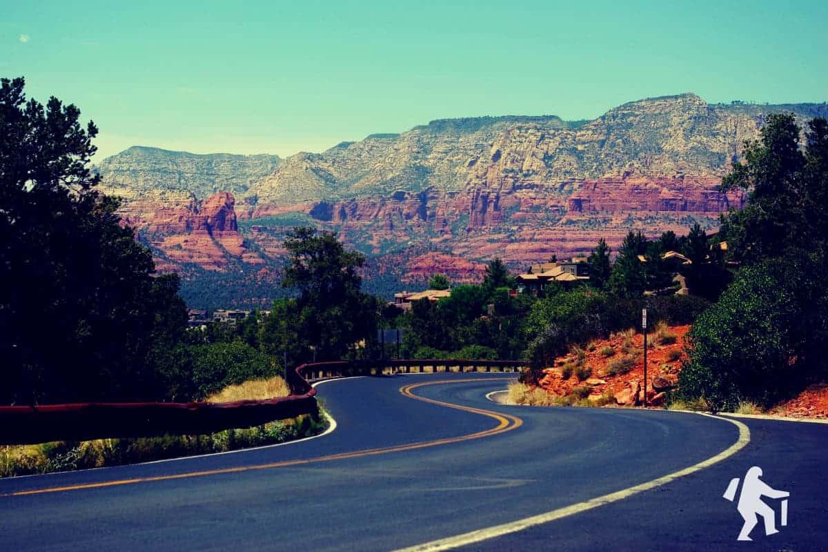 Driving to Sedona