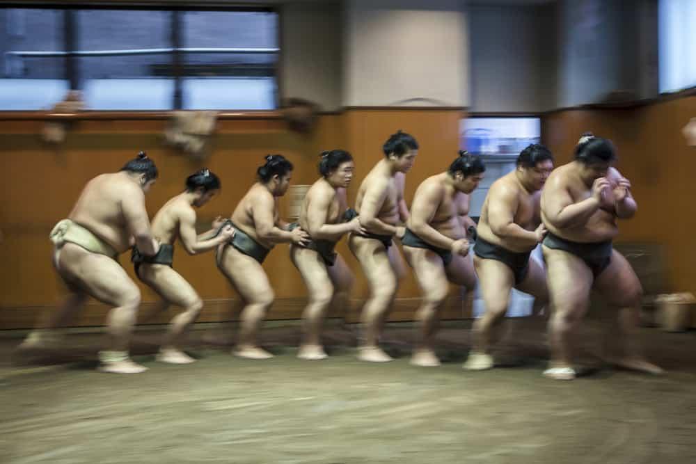 Sumo Wrestling Sesaon Begins in January in Tokyo
