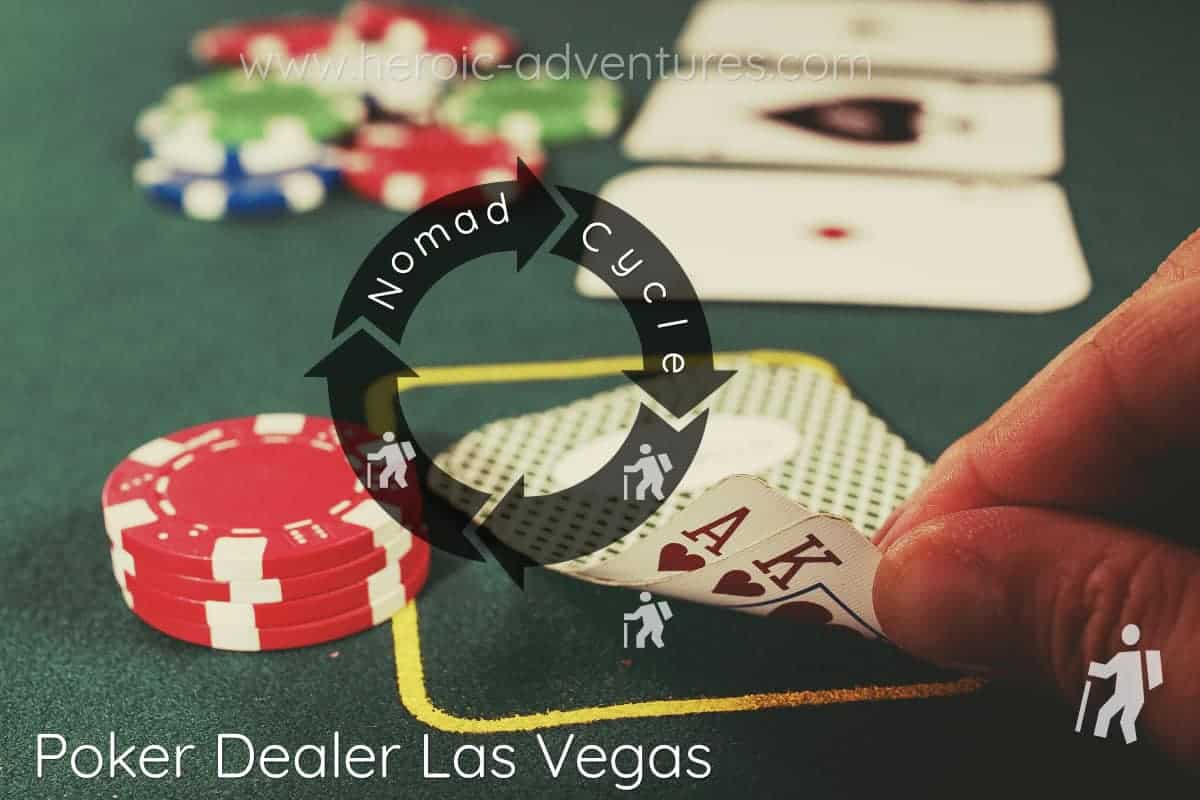 Poker Dealer Las Vegas, NV