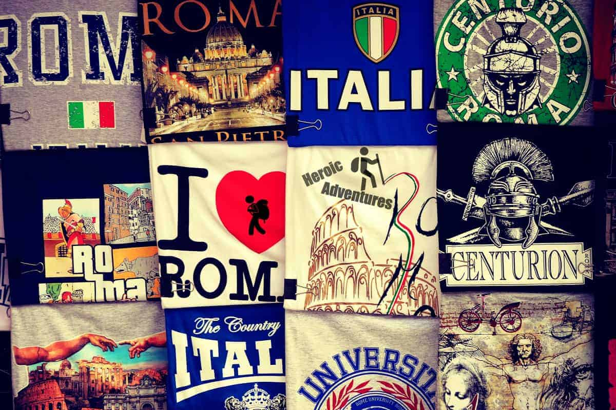 TeeShirt for Sale in Rome