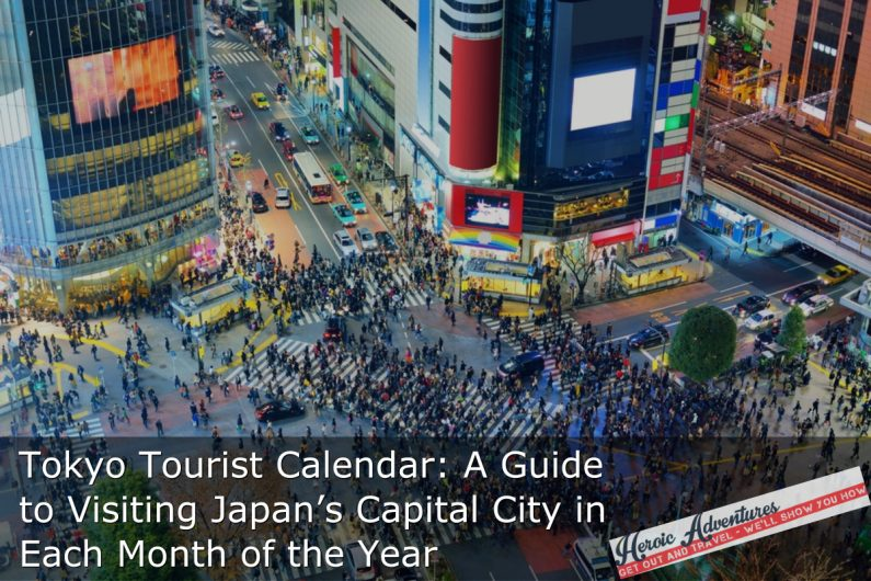 Tokyo Tourist Calendar: A Guide to Visiting Japan's Capital City in Each Month of the Year