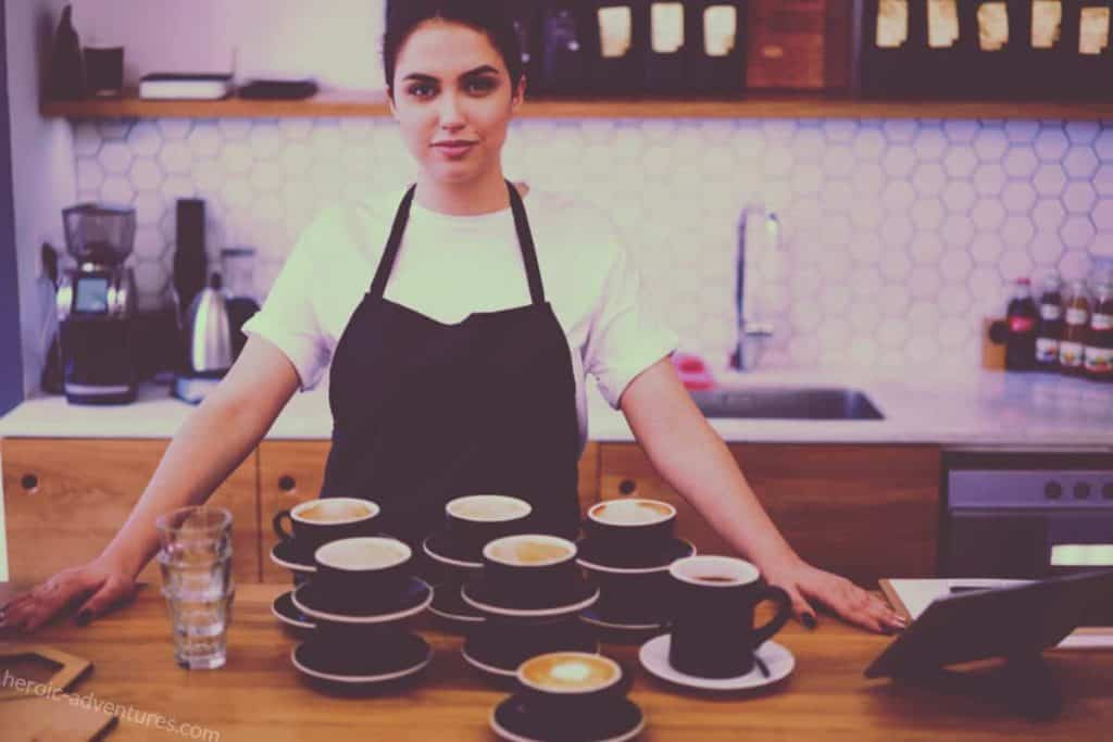Italian coffee - espresso for travel