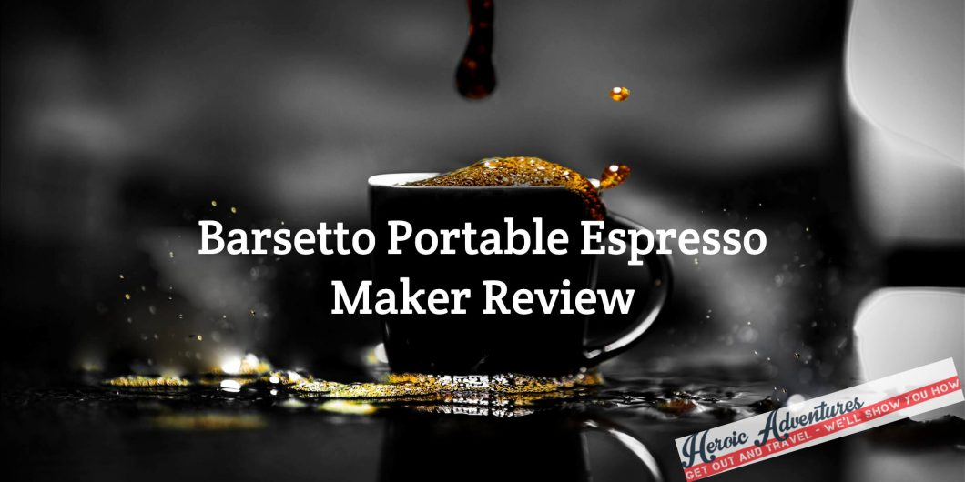 Barsetto Portable Coffee Maker