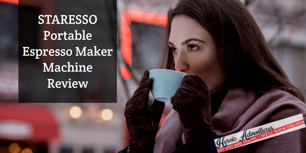 STARESSO Portable Espresso Maker Machine